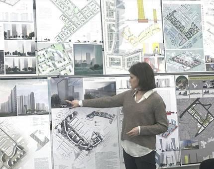 Студенты МАРХИ представили экспериментальные решения для перспективного проекта компании ДОНСТРОЙ - Фото