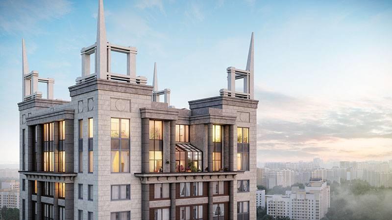 «Галс-Девелопмент» приступила к фасадным работам в жилом квартале «Достояние»