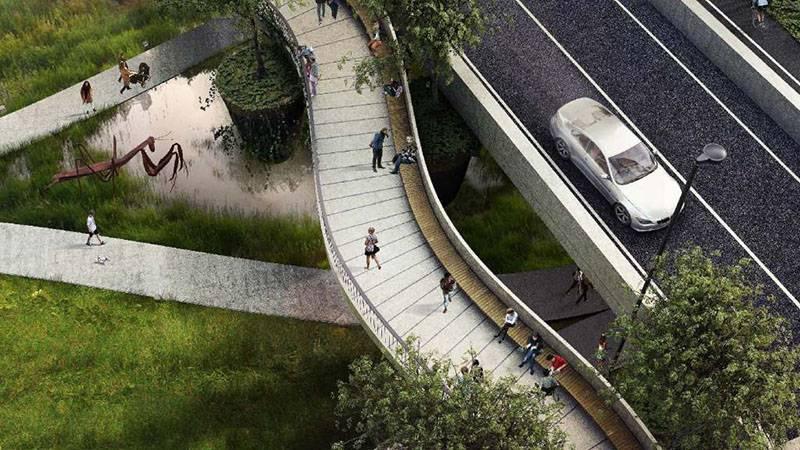 В проекте «СИМВОЛ» строится уникальный мост