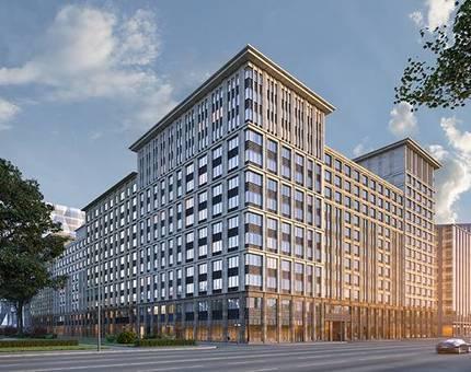 Компания «Галс-Девелопмент» приступила к фасадным работам в городском квартале «Искра-Парк» - Фото