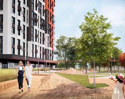 Новый проект от ДОНСТРОЙ: жилой комплекс «ОГНИ» в Раменках - Фото