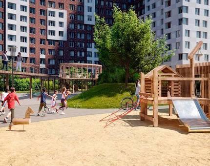 В ЖК «Румянцево-Парк» появятся экологичные детские площадки   - Фото