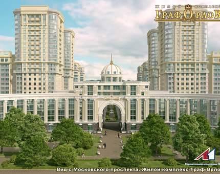 4 корпус жилого комплекса «Граф Орлов» поставлен на кадастровый учет — Фото