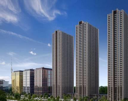 Завершено строительство небоскрёба в составе ЖК «Савёловский Сити» - Фото