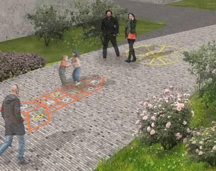 В ЖК «Испанские кварталы» появится амфитеатр - Фото