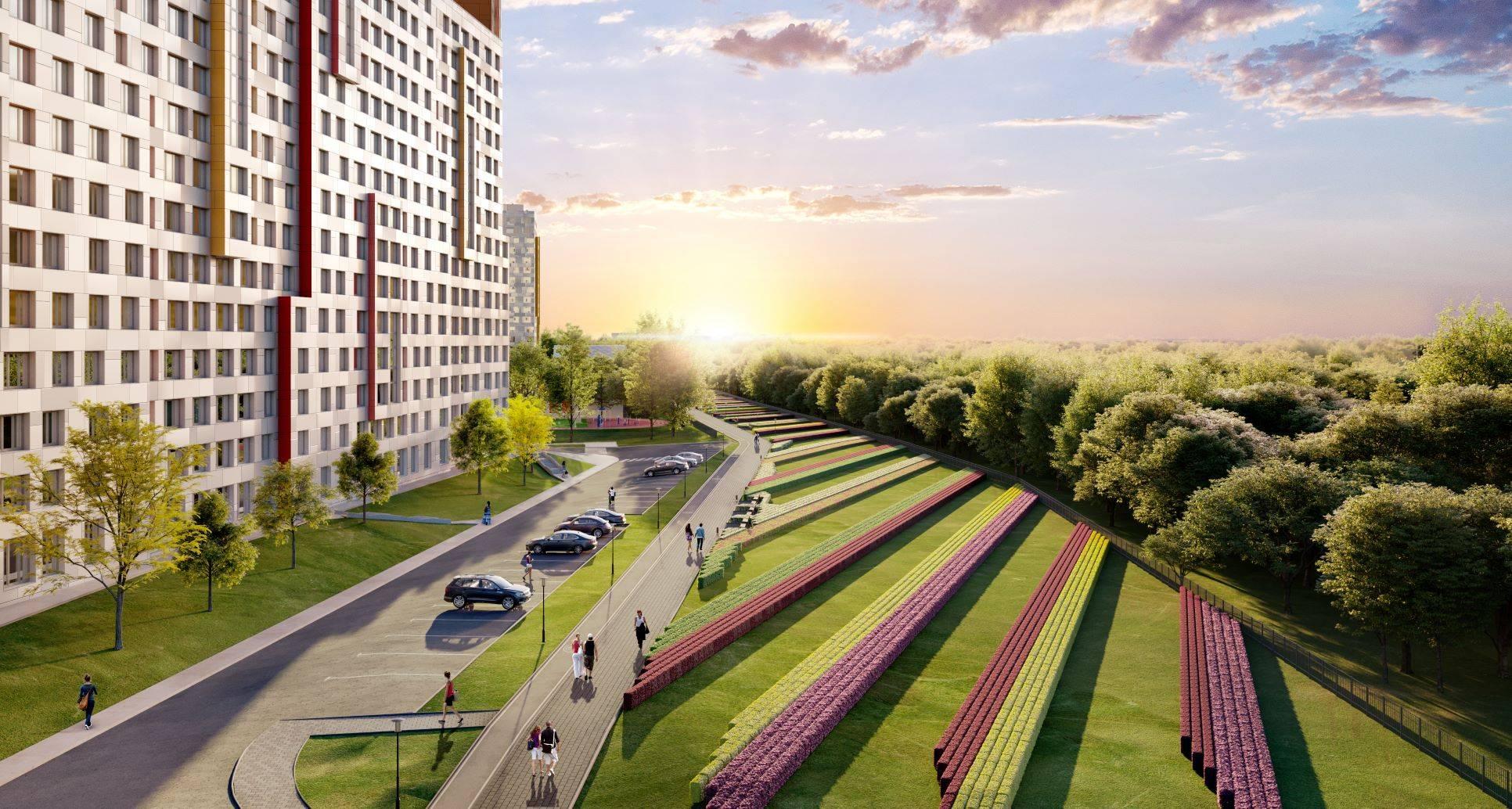 В жилом комплексе «Румянцево-Парк» доступна военная ипотека