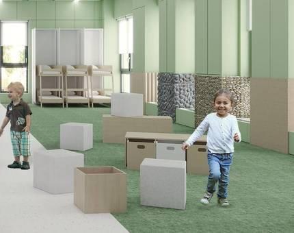 В детском саду «Белый кролик» станет в два раза больше  помещений с образовательной функцией - Фото