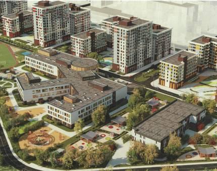 ГК «А101» получила разрешение на строительство школы  в ЖК «Испанские кварталы» - Фото