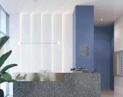 Для интерьеров жилого комплекса FRESH выбраны цвета сочных фруктов - Фото