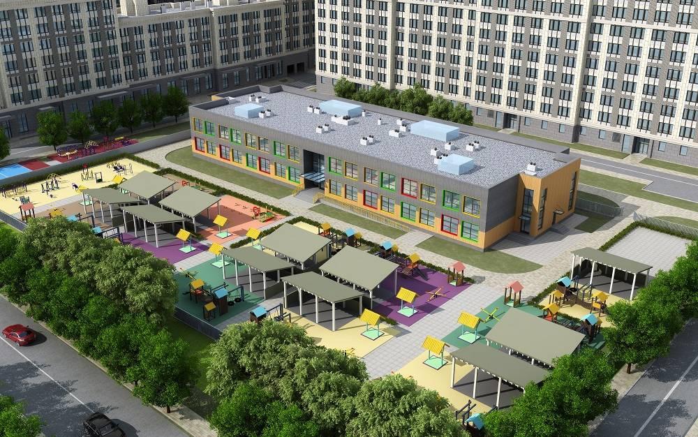 Детский сад на 220 мест построят в ЖК «Наследие»