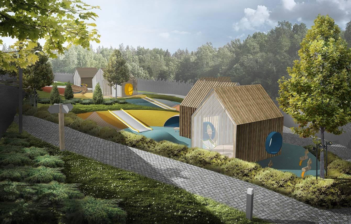 Детский сад «Волшебная долина» готов на 70%