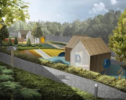 Детский сад «Волшебная долина» готов на 70% - Фото