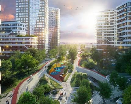 Донстрой начал благоустройство нового городского парка «Зеленая река»  - Фото