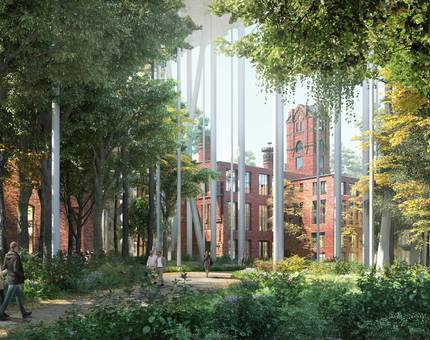Концепцию сохранения исторических зданий Бадаевского пивоваренного завода высоко оценили на международной премии - Фото