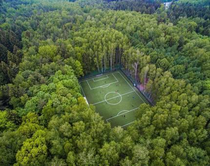 Бамбуковые щетки, гольф-поле  и зеленые мастер-классы:  как «Ташир» возводит эко-квартал будущего - Фото
