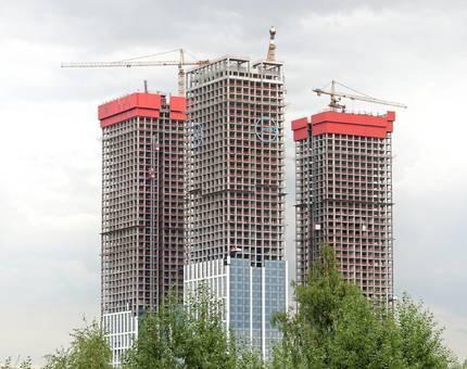 Небоскребы НЕБО: дневник строительных работ  - Фото