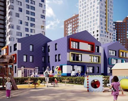 В ЖК «Румянцево-Парк» построят муниципальный детский сад  - Фото