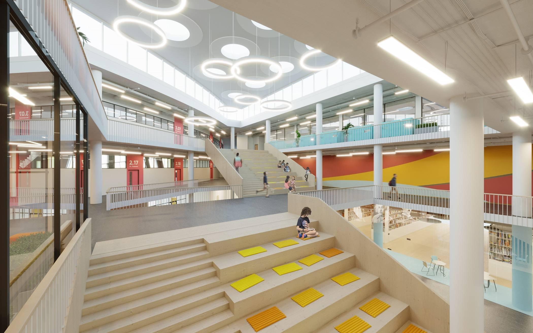 ГК «А101» построит в жилом районе «Испанские кварталы» образовательный центр с трёхэтажным амфитеатром