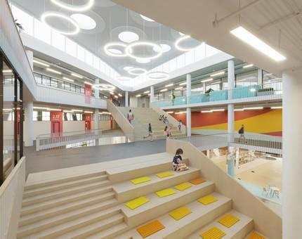 ГК «А101» построит в жилом районе «Испанские кварталы» образовательный центр с трёхэтажным амфитеатром - Фото