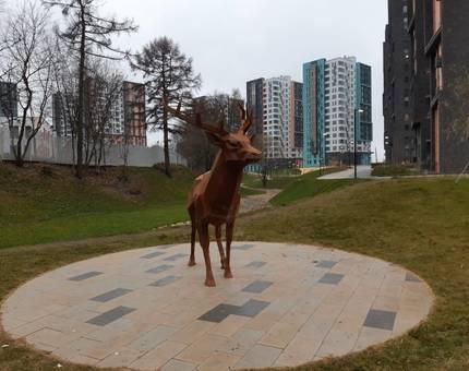 В ЖК «Скандинавия» появился первый «хранитель места» - Фото
