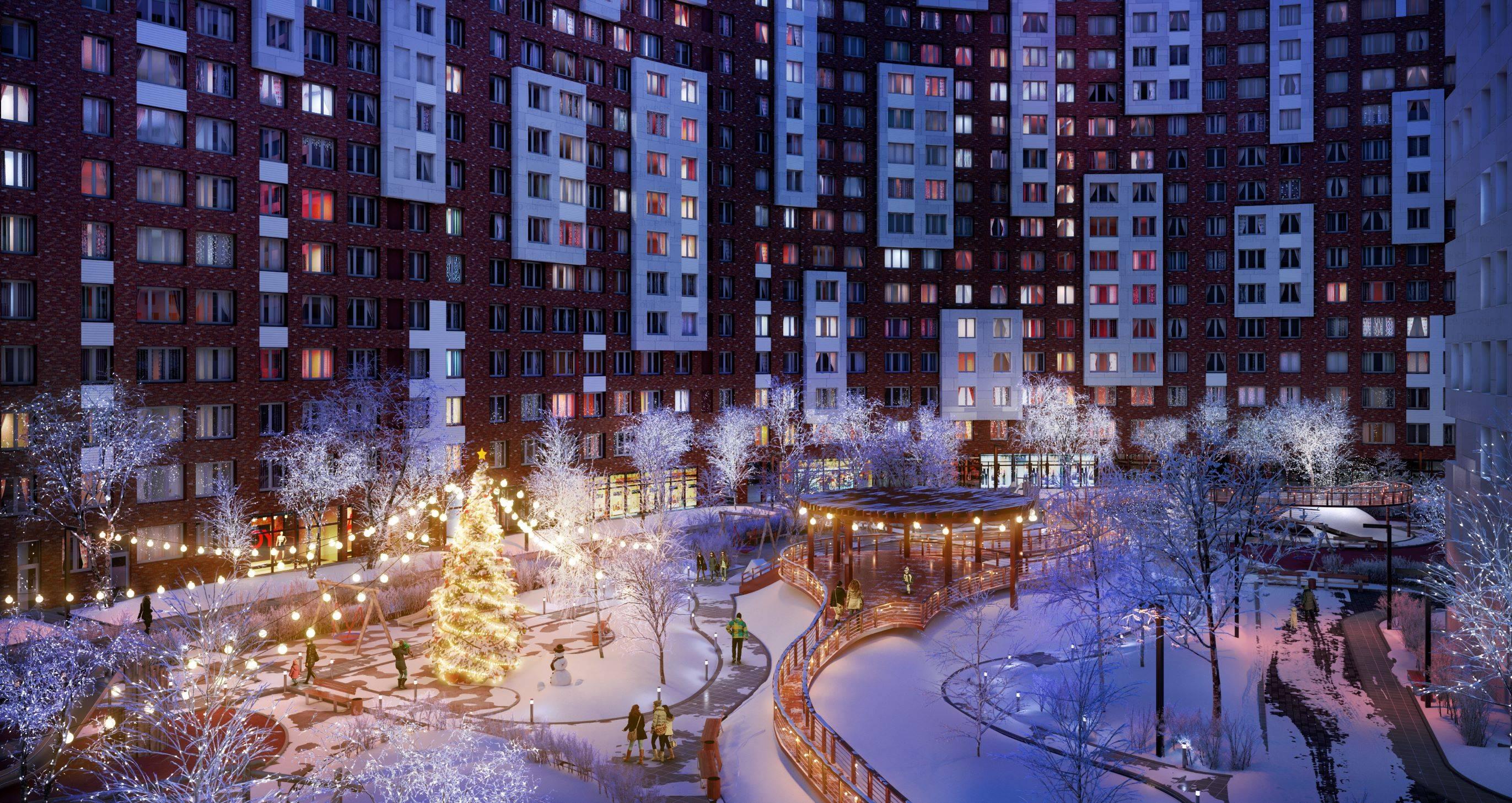 В ЖК «Румянцево-Парк» стартовали предновогодние акции с выгодой до 1 млн рублей