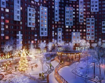 В ЖК «Румянцево-Парк» стартовали предновогодние акции с выгодой до 1 млн рублей  - Фото