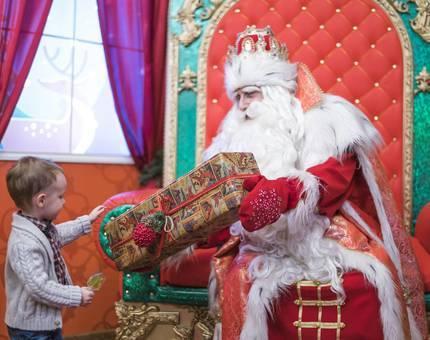 Дед Мороз ждет всех в ЦДМ на Лубянке - Фото
