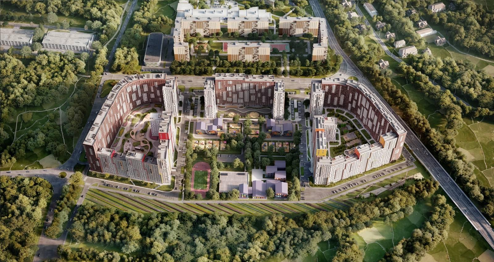 В ЖК «Румянцево-Парк» стартовали летние скидки с выгодой до 1 млн рублей