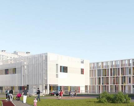 Новые Ватутинки объявили о начале строительства третей в районе школы - Фото