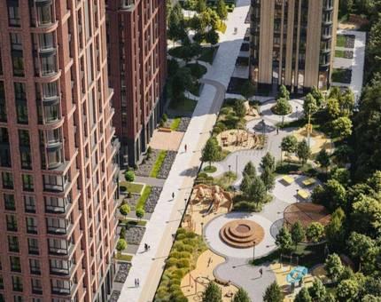 «Селигер Сити» и «Павелецкая Сити» вошли в Топ-8 жилых комплексов Москвы с самыми большими дворами - Фото