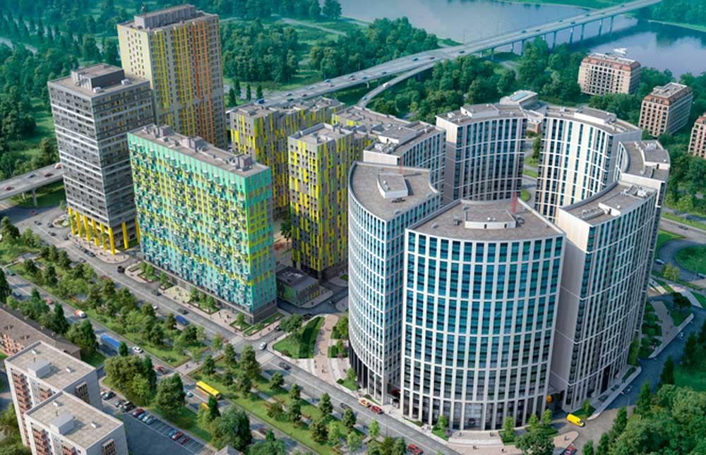 CBRE и COLLIERS INTERNATIONAL назначены co-эксклюзивными консультантами по продаже офисных площадей в БЦ «Фили Град»