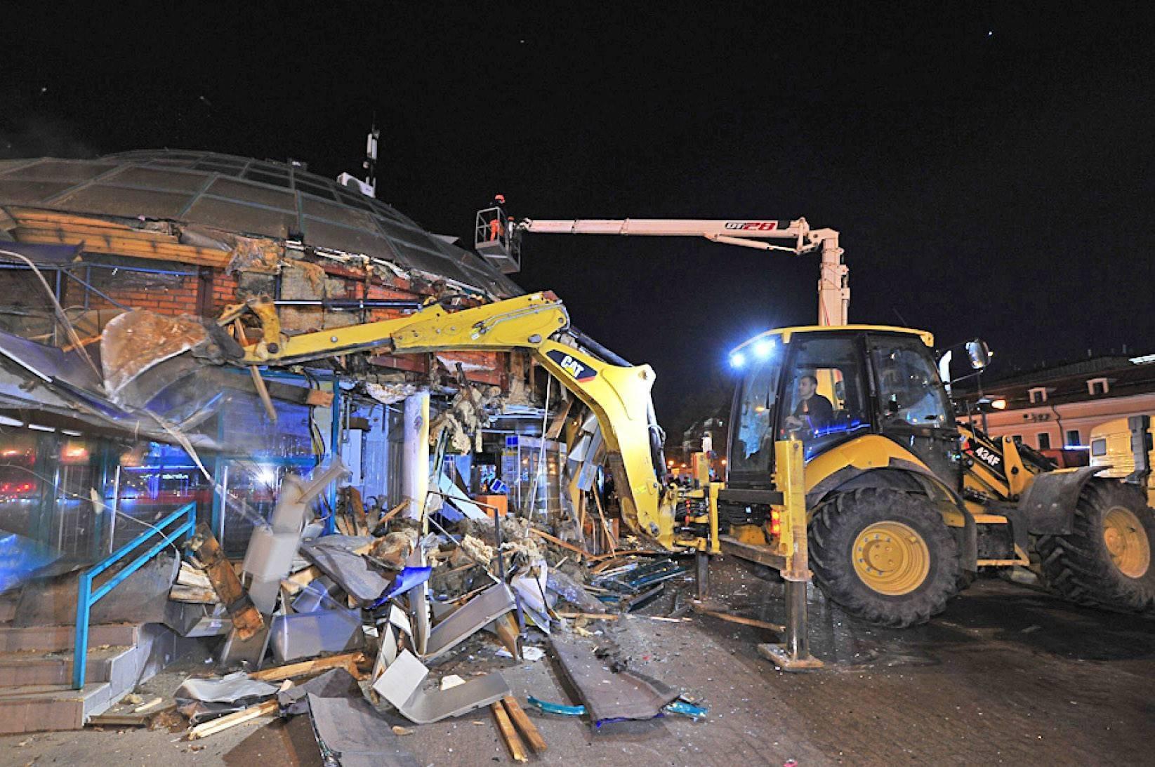 В Москве демонтировали более 90 объектов самостроя