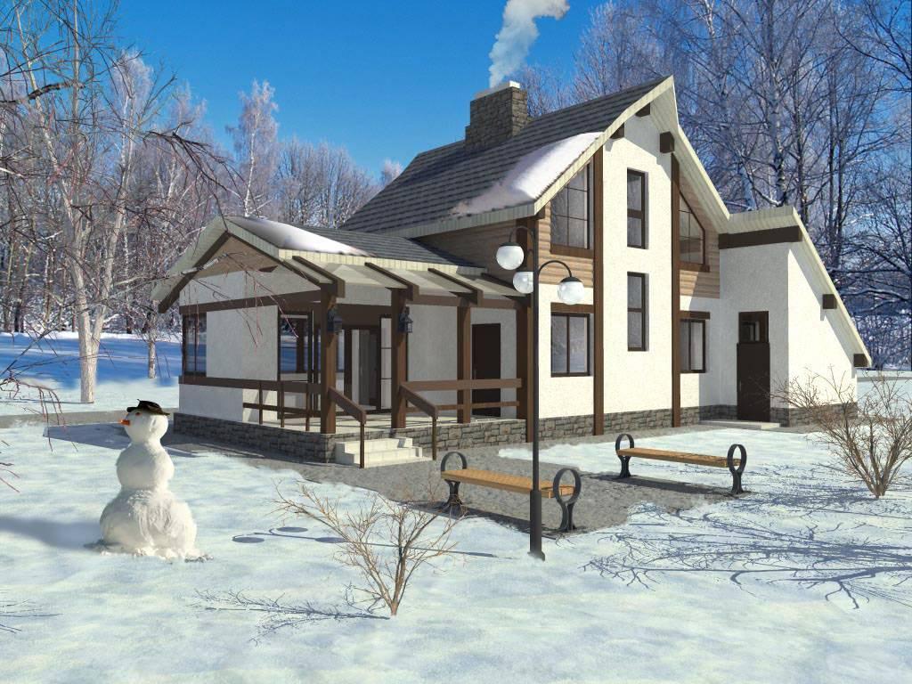 В Подмосковье растет спрос на «зимнюю» аренда коттеджей