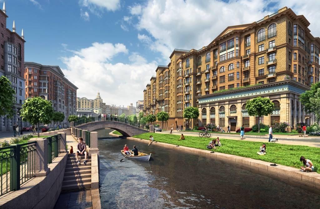 Впервые в ЦДХ будет представлен целый город в классическом стиле