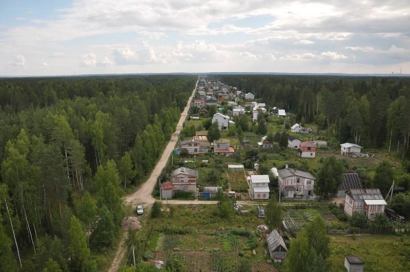 В подмосковных поселках обнаружено до 40% незаконных дач