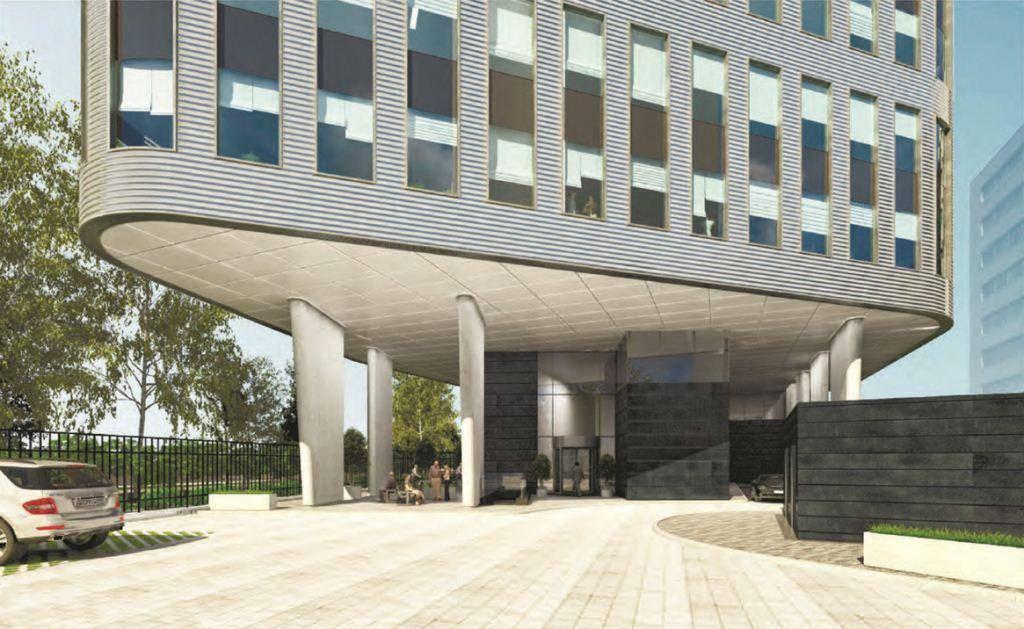На юго-западе Москвы возведут офисный центр с бионическим фасадом