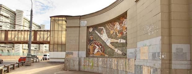 Мозаичные панно 60-х годов ХХ века украсят территорию ЖК «Царская площадь» после реставрации - Фото