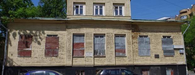 На Елоховском переулке началась реставрация образца деревянной допожарной архитектуры Москвы - Фото