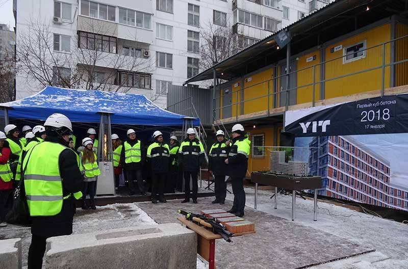YIT инвестирует в строительство нового жилого комплекса «Аалто» в Москве