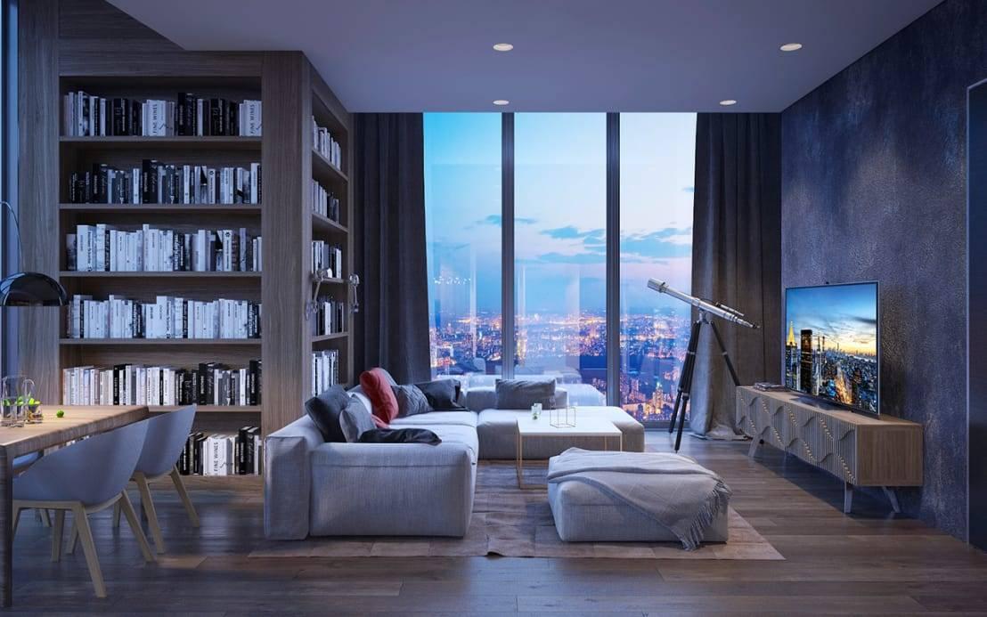 Capital Group первая предложила беспроцентную рассрочку на готовые апартаменты в башне ОКО