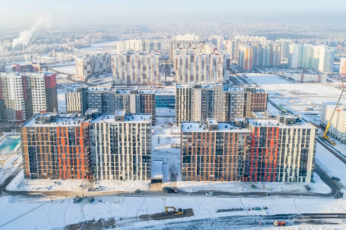 Девелопер Новых Ватутинок «Инвесттраст» – в числе лидеров по вводу жилья