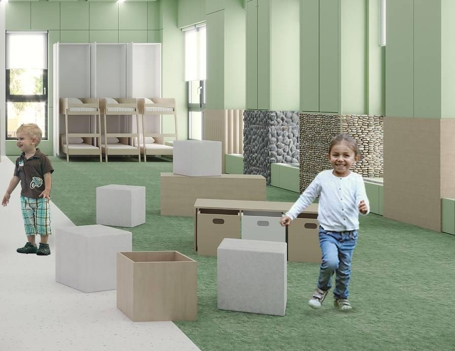 В детском саду «Белый кролик» станет в два раза больше  помещений с образовательной функцией