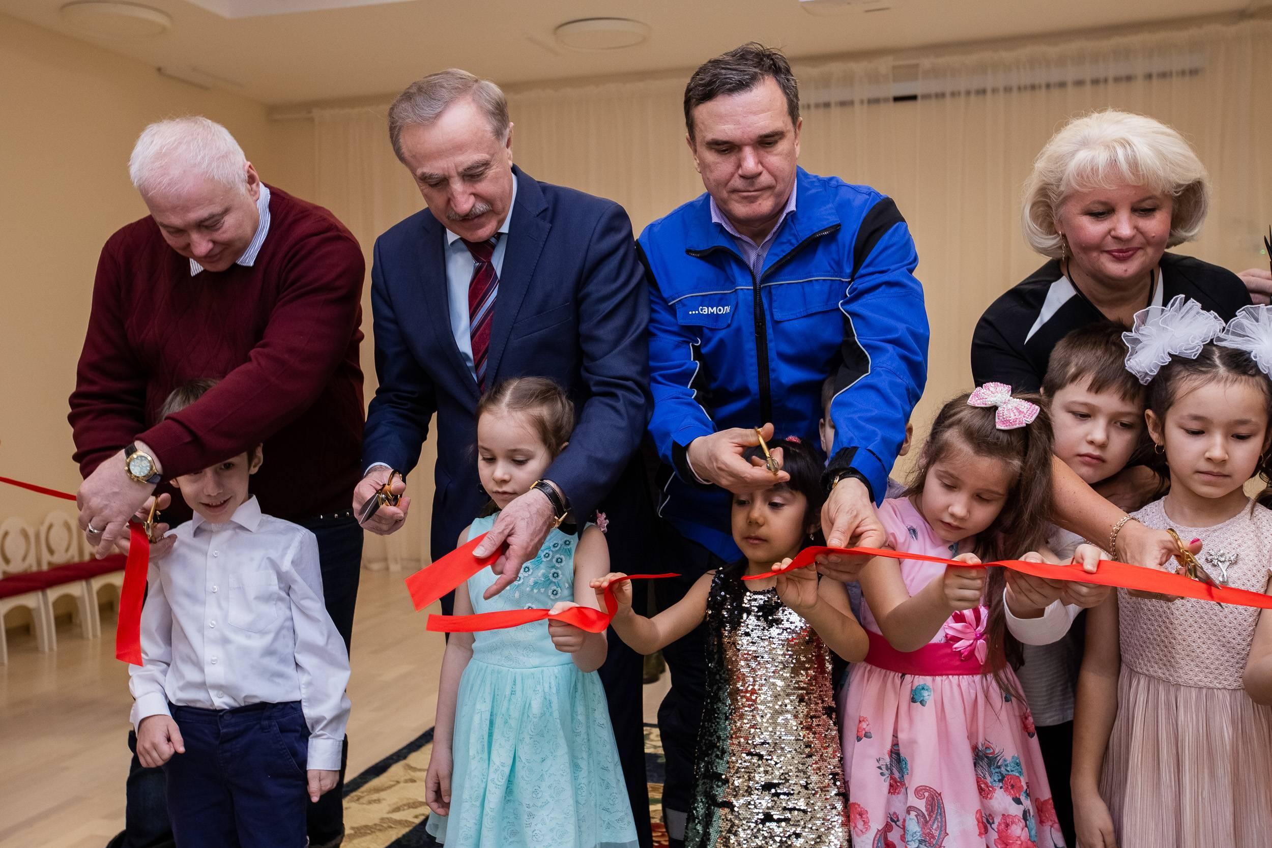 Группа «Самолёт» открыла новый детский сад в Люберцах