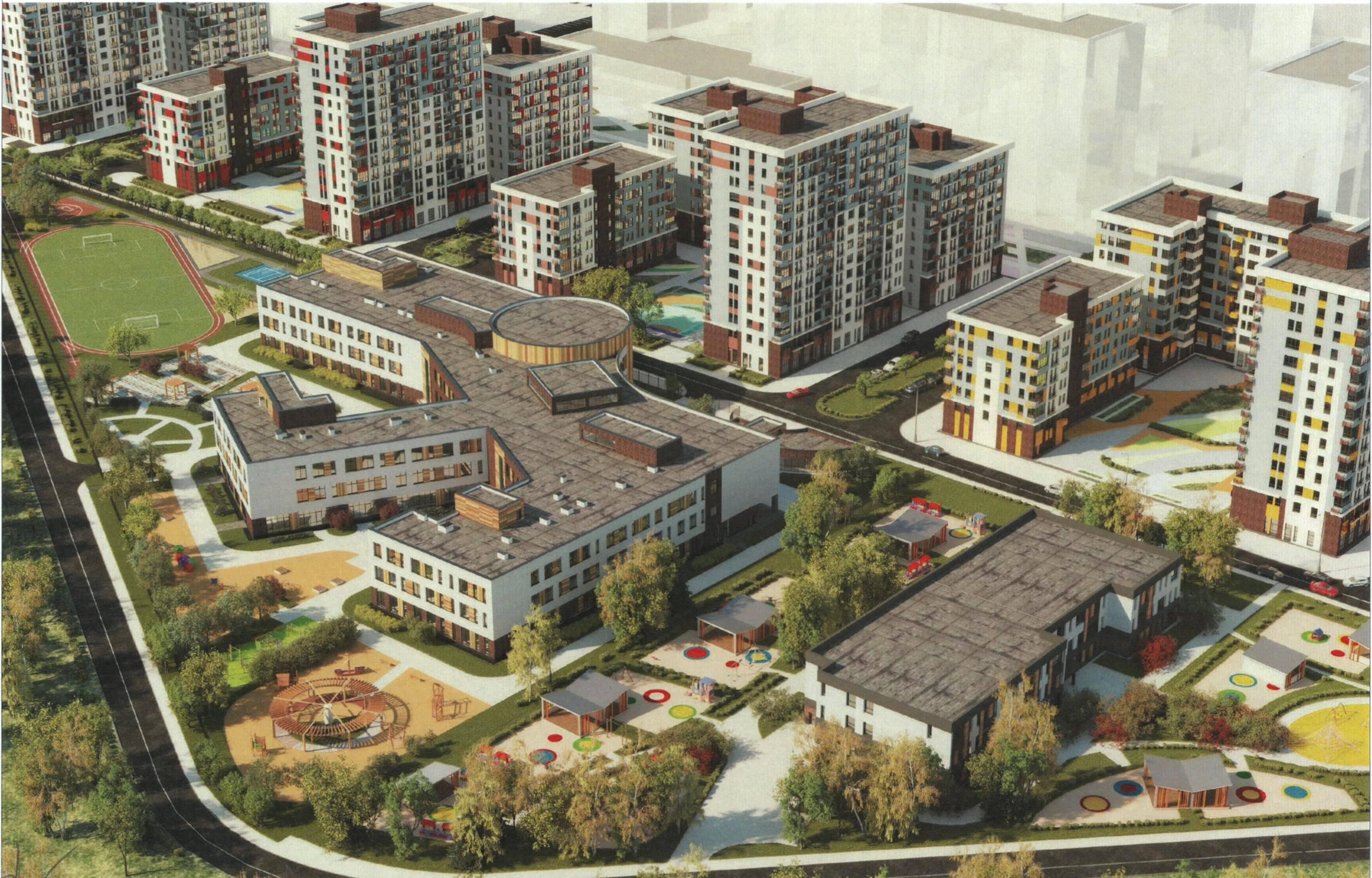 ГК «А101» получила разрешение на строительство школы  в ЖК «Испанские кварталы»