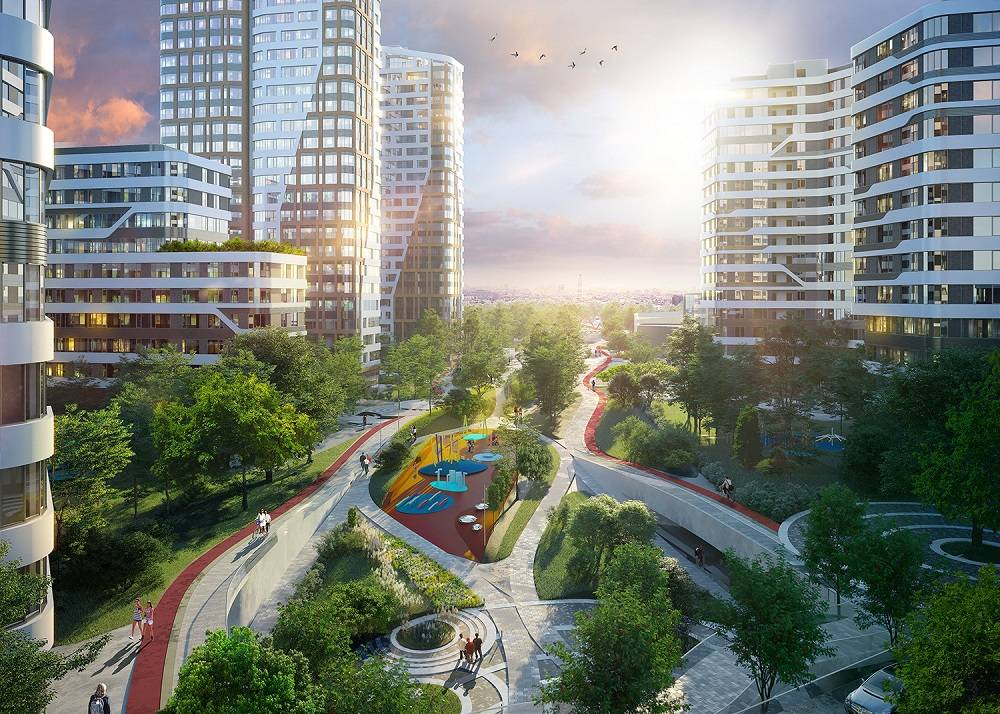 Донстрой начал благоустройство нового городского парка «Зеленая река»