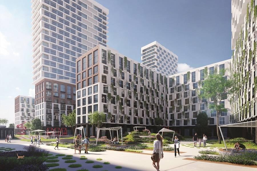 За 3 месяца продаж Донстрой реализовал почти 40% квартир в ЖК «Событие» в Раменках