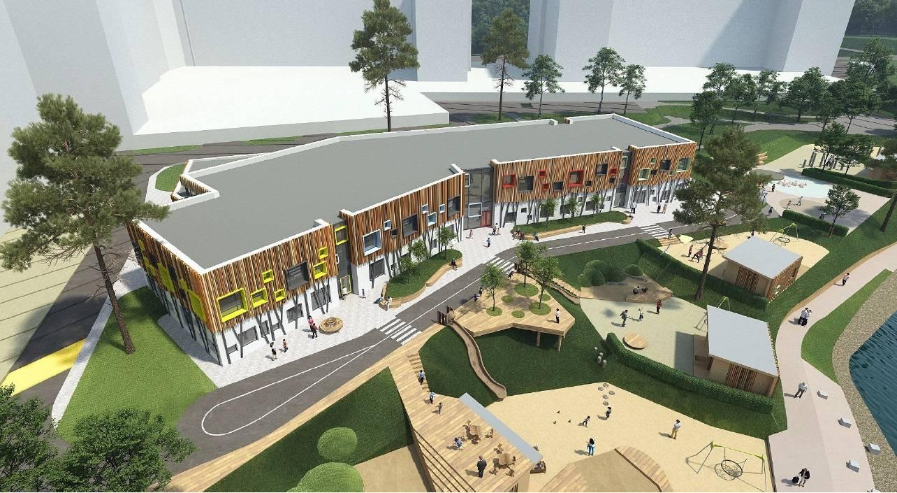 ГК «А101» построит детский сад «Весёлое королевство»