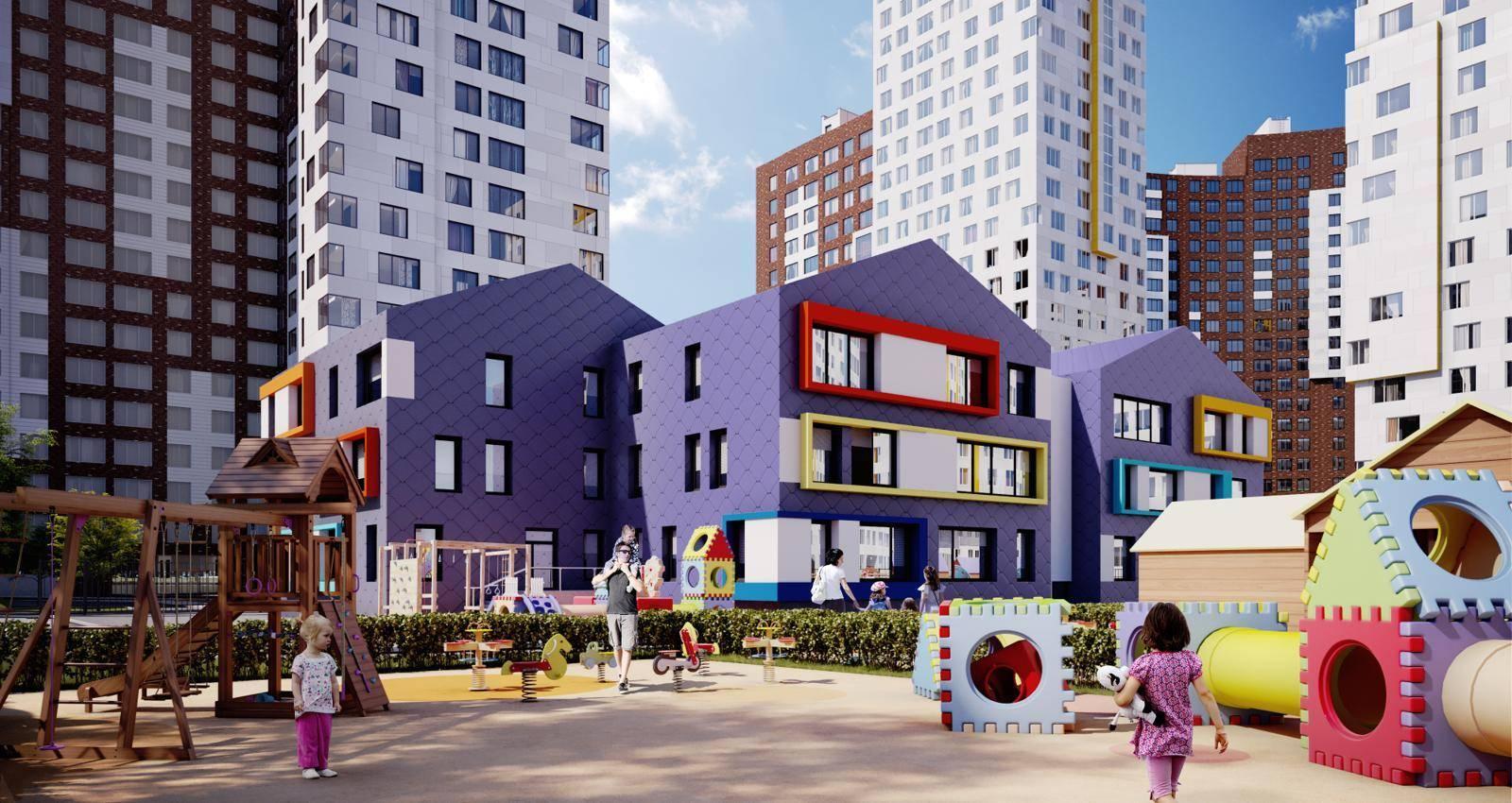 В ЖК «Румянцево-Парк» построят муниципальный детский сад