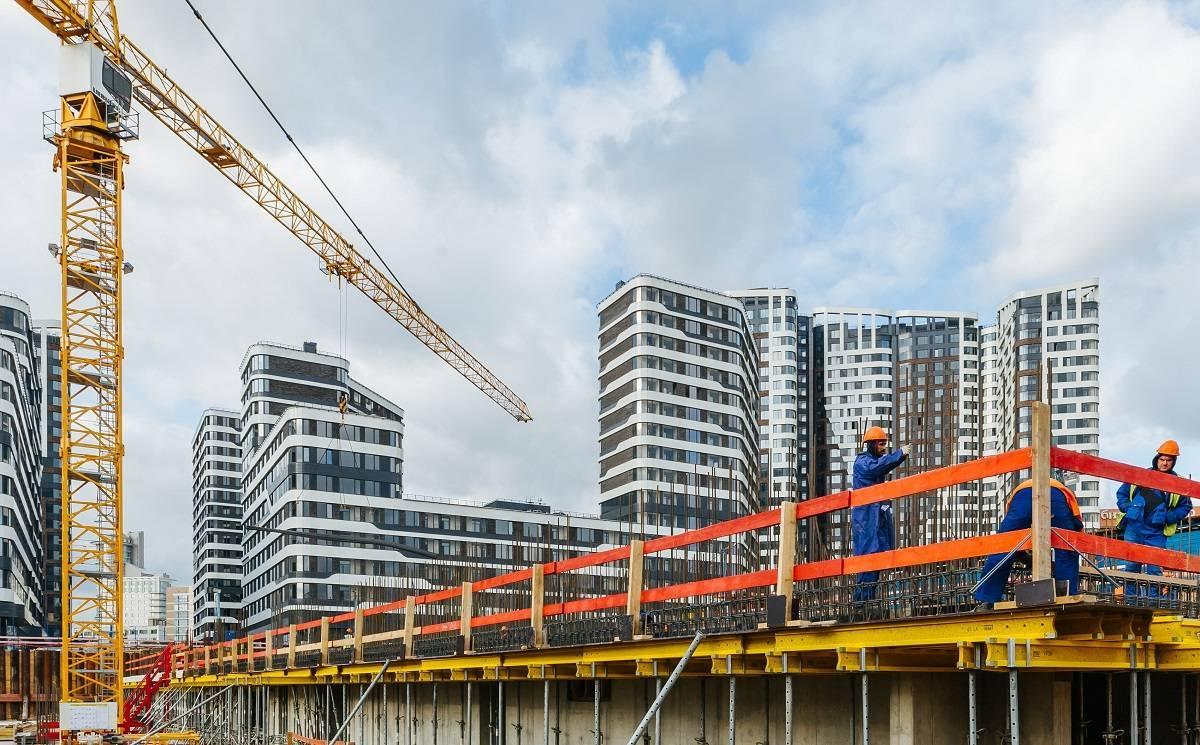 Донстрой приступил к монтажу надземных этажей в новом квартале проекта «Символ»
