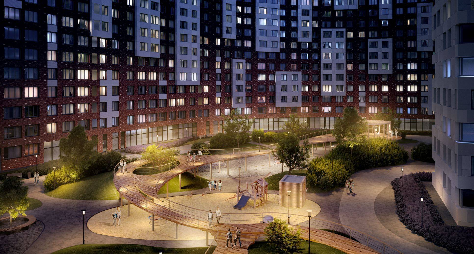 В ЖК «Румянцево-Парк» завершены монолитные работы первого корпуса проекта